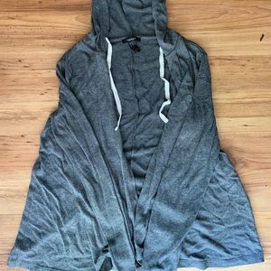 Comfy Forever21 cardigan with hood